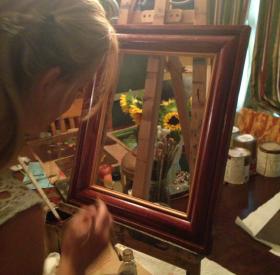 Handcrafted Frames ArtByMeVickery