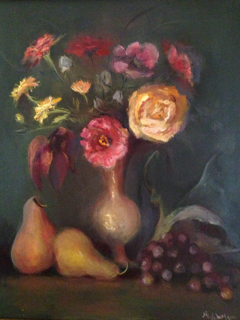 rosé dahlia
