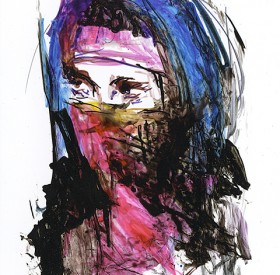 Ink Illustration by Maryellen Vickery