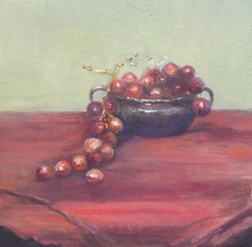 Grapes in Blue Tin © Copyright Maryellen Vickery