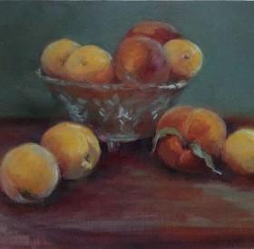 Peaches-in-Glass