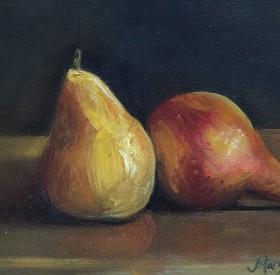 Pears by Maryellen Vickery
