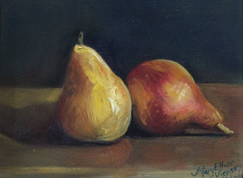 Pears by Maryellen Vickery