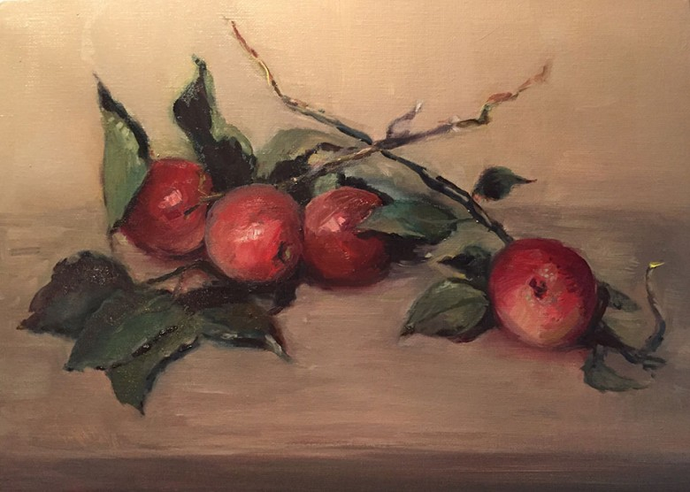 Apples #2 Study © Copyright Maryellen Vickery