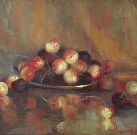 Cherries Noble © Copyright Maryellen Vickery